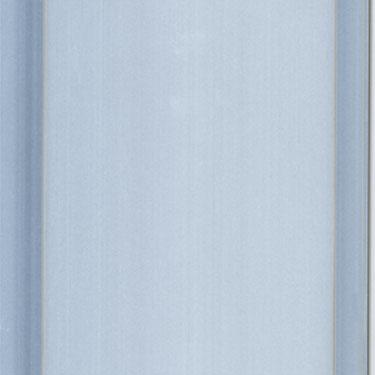 silver aluminum panels
