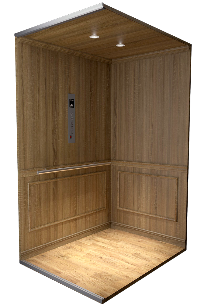 cab style 300 for custom home elevator