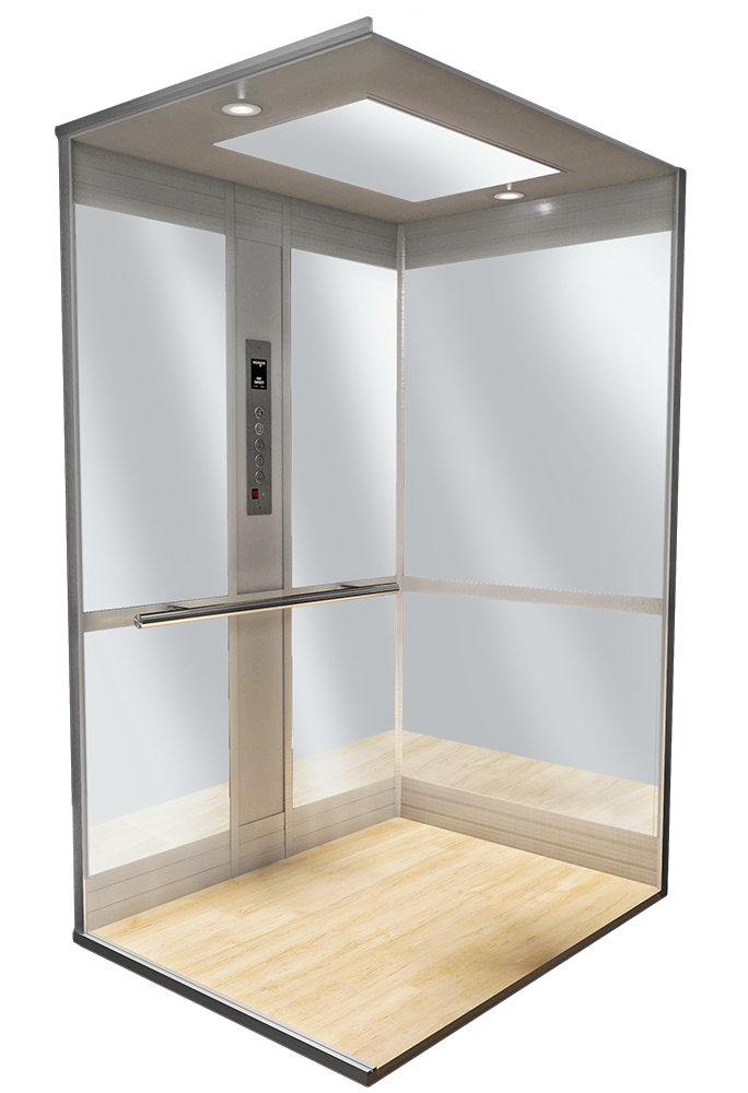 cab style 500 for custom home elevator