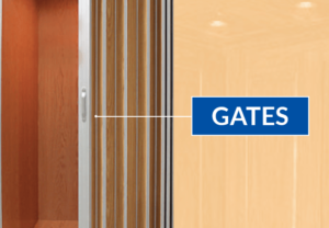 elevator safety gates
