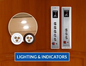 lighting & indicators in elevator