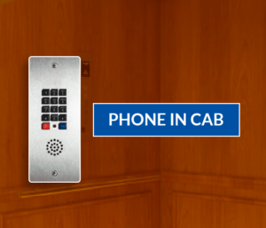 phone in elevator cab