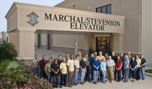 Marshall/Stevenson Elevator staff