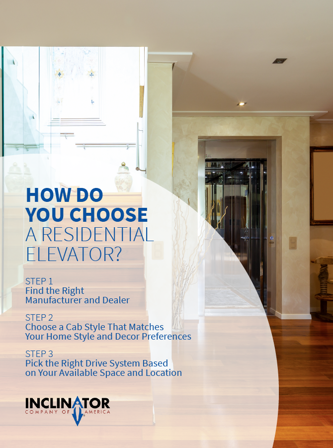 steps to choosing a residential elevator