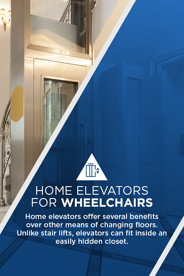 home elevators for wheelchairs