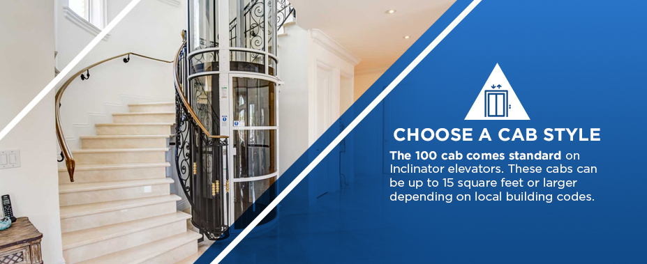 choose a cab style for your home elevator