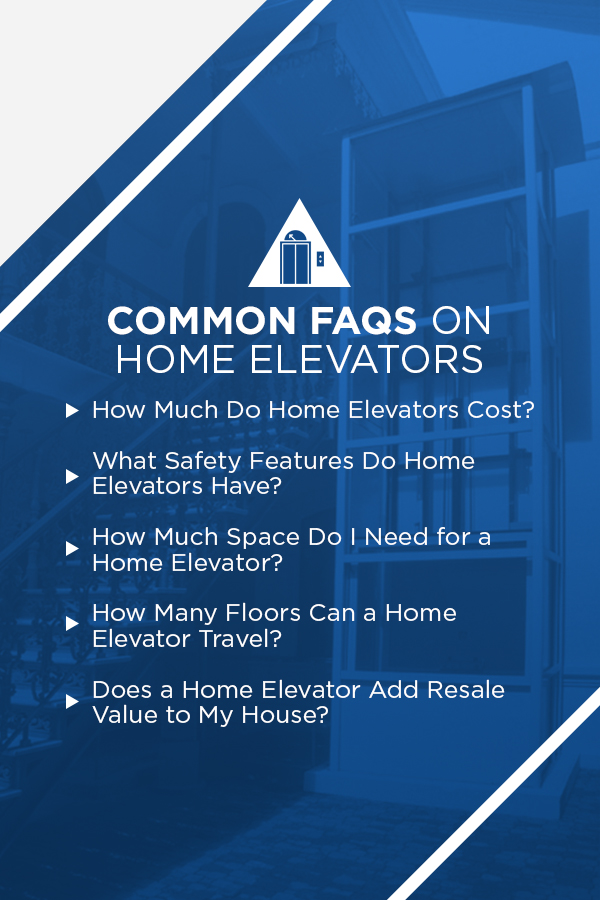 common FAQs about home elevators