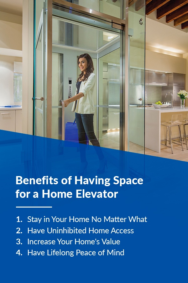 benefits of home elevators