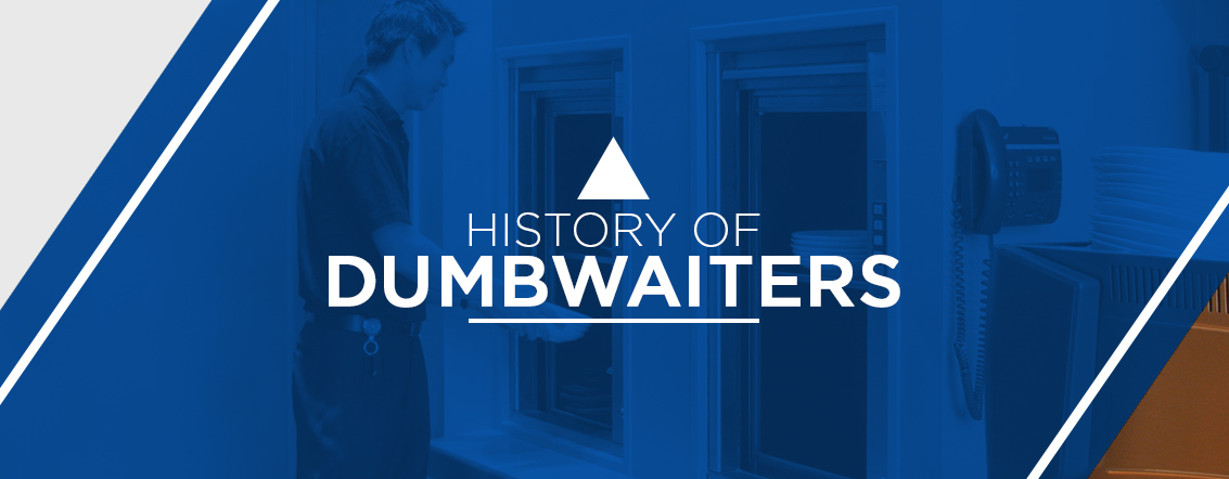 history of dumbwaiters