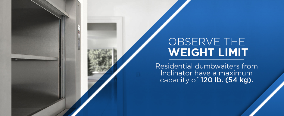 dumbwaiter weight limits