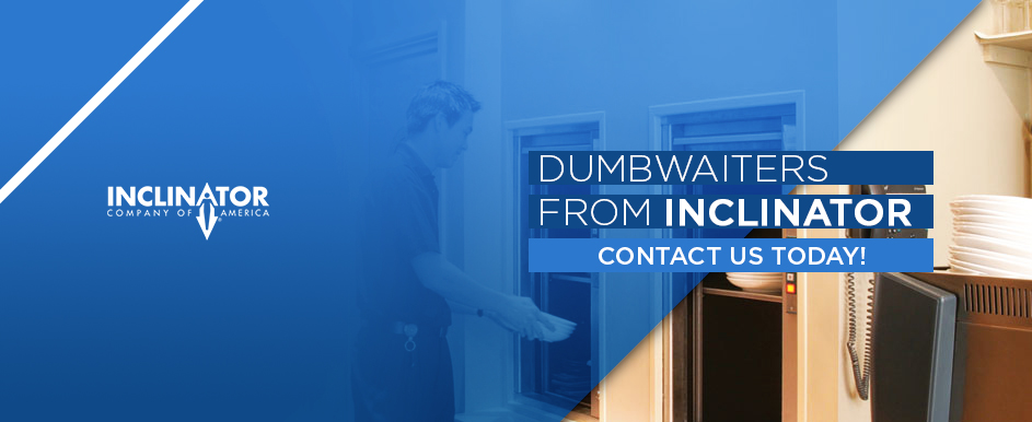 dumbwaiters from inclinator