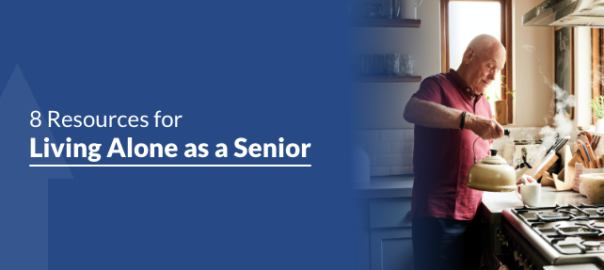 8 Resources For Living Alone as a Senior